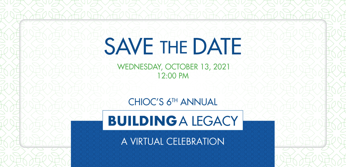 Building a Legacy 2021 SaveTheDate October 13, 2021 at 12:00pm