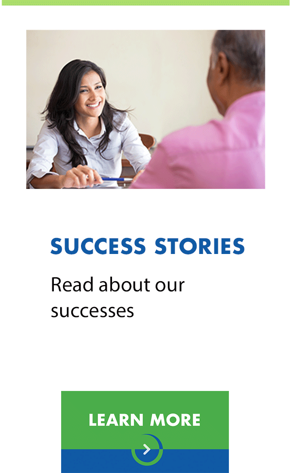 Read About Our Success Stories